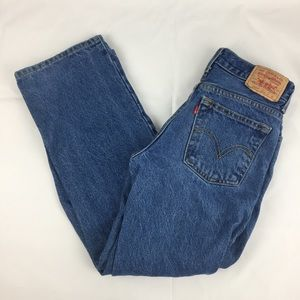 Levi's 550 Relaxed Fit Jeans Sz 14 27x27 EUC